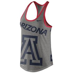 Women's Nike Arizona Wildcats Dri-Blend Tank, Size: