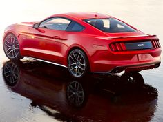 1312 2015 Ford Mustang Rear Three Quarters Photo 1