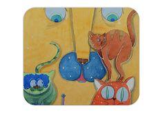 mousepad illustrated di LiuLab su Etsy