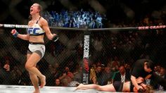 Ronda Rousey's comeback came to a grinding halt as reigning UFC women's bantamweight champion Amanda Nunes demolished the former champ in less than 50 seconds. Mma Girl Fighters, Female Mma Fighters, Ufc 196, Amanda Nunes, Rowdy Ronda, Nate Diaz, Ufc Women, Ronda Rousey, Magazine Articles