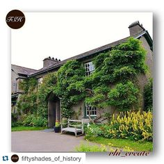 Thank you  @fiftyshades_of_history for featuring my #nationaltrust photo of #beatrixpotter home at Hill Top in The Lakes.  Please like their page and tag #fiftyshades_of_history for a chance to be featured! . . . Fiftyshades_of_history is honoured to feature one of the  amazing images tagged to  #fiftyshades_of_history  . Today we present :  @rhi_create  .  Hill Top is a 17th-century house in Near Sawrey near Hawkshead in the English county of Cumbria. It is an example of Lakeland vernacular…