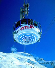 Mount Titlis Rotair cable tour Places In Europe, Places Around The World, Places To Travel, Places To Visit, Around The Worlds, Zermatt, S Ki Photo, Mount Titlis, Best Of Switzerland