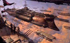 sci-fi spaceship - Sök på Google
