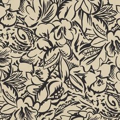 Ralph Lauren Daintree Fl Ebony Lcf65625f Grlands Outdoor Collection Fabric