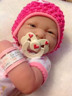 NEW~ Precious Preemie Berenguer La Newborn Doll + Extras ( MAGNETIC PACIFIER)  #Berenguer #babydolls