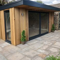 Horto Garden Rooms- Modular Garden Rooms - Harrogate Sauna House, Sip House, Garden Cabins, House Entrance, Backyard Office, House Exterior, Garden Buildings, Garden Office Shed, Back Garden Design