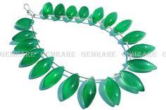 Green Onyx beads in Dew Drops Smooth Shape Quality AAA 7x16 #greenonyx #greenonyxbead #greenonyxbeads #greenonyxdewdrops #dewdropsbeads #beadswholesaler #semipreciousstone #gemstonebead #gemrare #beadwork #beadstore #bead