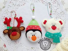 Christmas Decorations Diy Crafts, Diy Christmas Lights, Felt Christmas Ornaments, Christmas Stockings, Christmas Crafts, Xmas, Holiday Decor, Welcome December, Felt Toys
