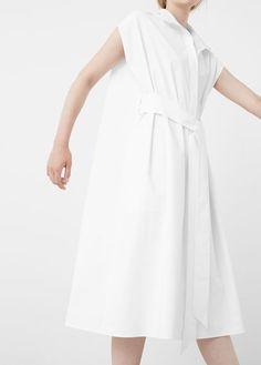PREMIUM - Poplin shirt dress