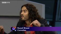 Russell Brand Lays Into Bankers On Question Time (and Boris Johnson's Reply)