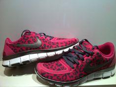 Womens Nike Pink Leopard...I want these soooooooo bad . 6.5 please!!!!!