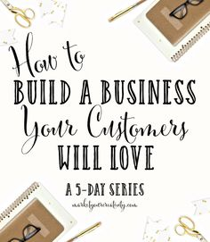 Build a business your customers will love by Lisa Jacobs. A 5-day series that offers fresh insight and a glimpse of what you can expect from Illuminate.
