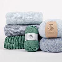 Sheep Happens! / DROPS 194-2 - Gratis strikkeoppskrifter fra DROPS Design Drops Patterns, Lace Patterns, Knitting Patterns Free, Free Knitting, Baby Knitting, Free Pattern, Crochet Patterns, Drops Design, Crochet Diagram