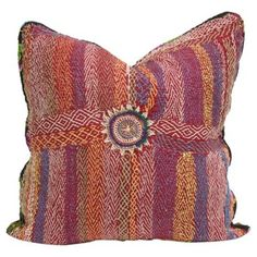 Check out this item at One Kings Lane! Sindh Saami Quilt Pillow
