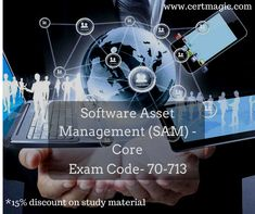 Exam 70-713 Software Asset Management (SAM) - Core If you are looking for some easy and up to date study resources for Microsoft Software Asset Management Exam, we are here to help you. Visit us @ https://www.certmagic.com//70-713-certification-practice-exams.html   # IT # learning material # training material # Microsoft certification # software # asset management # core # discount # demo # dumps