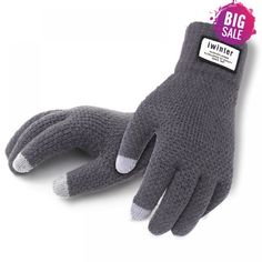 Winter Autumn Men Knitted Gloves Touch Screen High Quality Male Thicken Warm Wool Cashmere Solid Gloves Men Mitten Business * Offer can be found by clicking the VISIT button Wool Gloves, Mens Gloves, Knitted Gloves, Knit Hats, Warmest Winter Gloves, Workout Gloves, Retro Stil, Cashmere Wool, Cashmere Gloves