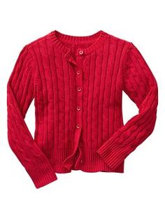 #1 Cable knit cardigan - GapKids uniforms are better than ever. Now in NEW modern fits, softest fabrications and cool-kid prints + colors.