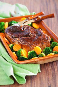 Bravčové mäso s brokolicou
