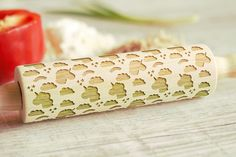 Wooden Engraved Rolling Pin Unicorn Pattern Unique Personalized