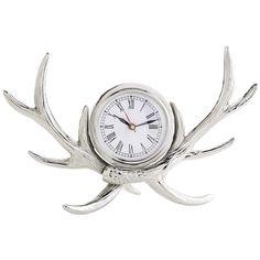 Antler Table Clock