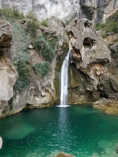 in Southern Spain, Sierra de Cazorla Cliff Diving, Visit Barcelona, World Photo, Beautiful Waterfalls, Spain And Portugal, Road Trip Usa, Spain Travel, Nature Pictures, Amazing Nature