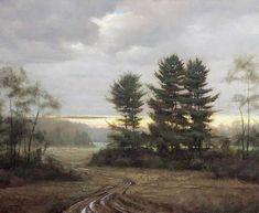 Subsiding Storm: Psalms 30:5 oil painting by Thomas Kegler
