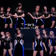 T-ara Sugar Free- they really are really gorgeous, but the dance has so much popping in the neck it must ache after a while. its a quite catchy beat to it, and im fond of it