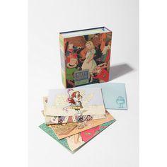 Alice In Wonderland Note Cards