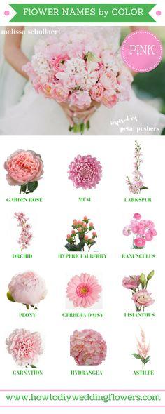 Wedding Trends 2018 ! How To DIY Wedding Flowers! 2018 Pink Wedding Flower Trends. Easy DIY Tutorials and How to Tips & Tricks! #diywedding #diyflowers #howtomakeabouquet www.howtodiyweddingflowers.com