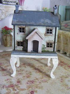Miniature dolls house 4 a dolls house by Shabbiechicminiature