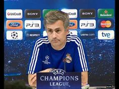 Video Real Madrid vs. Tottenham: Mourinhos press conference before the match