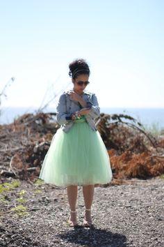 Love this mint dress!
