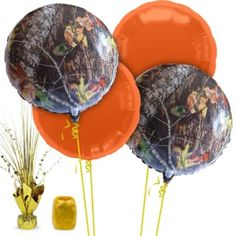 Mossy Oak Camo Balloon Kit - Party Supplies from Birthday in a Box