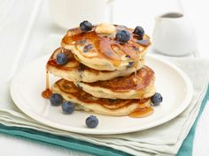 Blueberry Pancakes Recipe : Trisha Yearwood : Food Network - FoodNetwork.com