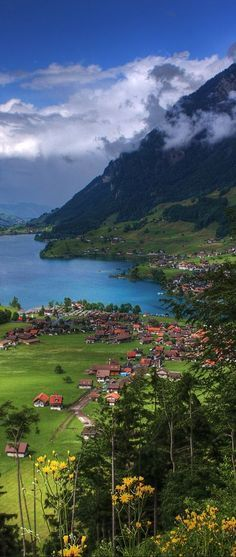 Lungern, Switzerland beautiful places for travel.