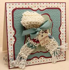 @Linda Bruinenberg Brogren Warm wishes...you can knit each of your Xmas cards for next year!
