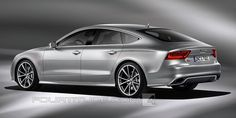 Audi RS 7 render by Fourtitude.com