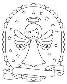 2015 Angel Coloring Pages