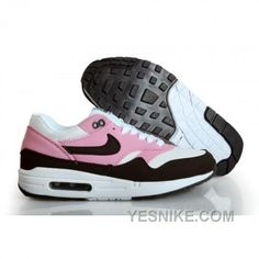 Big Discount  66 OFF Nike Air Max 1 Womens Pink Black Friday Deals 2016XMS1613