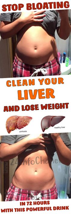 Clean Your Liver And Lose Weight In 72 Hours With This Powerful Drink