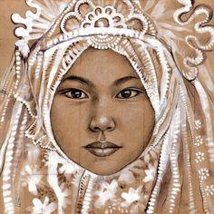 Stéphanie Ledoux - Carnets de voyage: TOILES People Illustration, Illustration Art, Illustrations, Collages, Art Visage, Travel Sketchbook, Ledoux, A Level Art, Portraits