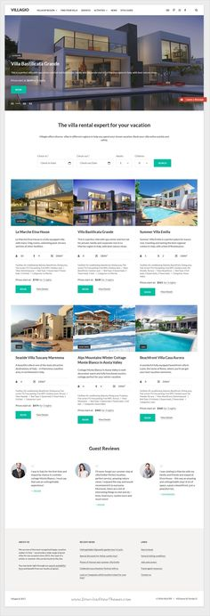 Villagio is clean and modern design responsive #WordPress theme for #property #rental agency website download now..