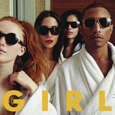 Pharrell lanzará 'G I R L', su nuevo disco, en Marzo