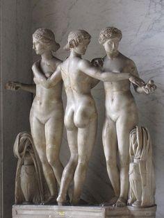 Roman Statues, Rome, Italy