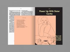 The second issue of 'intelligent women's mag' Riposte features a 16 page monograph showcasing poetry by Amy Key, with original illustrations by Giada Ganassin Editorial Design Layouts, Essay Layout, Book Layout, Print Layout, Layout Design, Magazine Contents, Buch Design, Hand Drawn Type, Creative Review