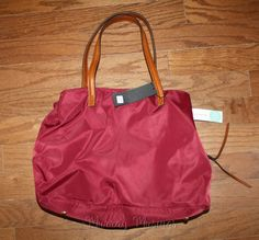 Anchorage Nylon Tote--love this color!