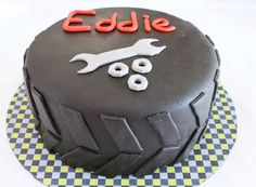 tire cake for mechanic