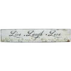 Live Laugh Love Wood Wall Sign | Hobby Lobby | 157701