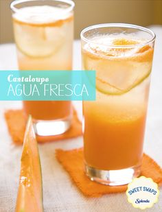 After a nice, summer, bike ride come back home and cool off with this delicious Cantaloupe Agua Fresca. Crisp, and refreshing this light drink is made with SPLENDA® Sweetener so you can enjoy great flavors without all the calories from added sugar. Check out the recipe here!
