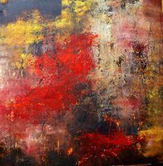 Storia Muro by Lisa Boardwine Oil ~ 36 x 36